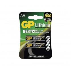 Baterije GP Lithium AA FR6, 1.5V - 4 kosi
